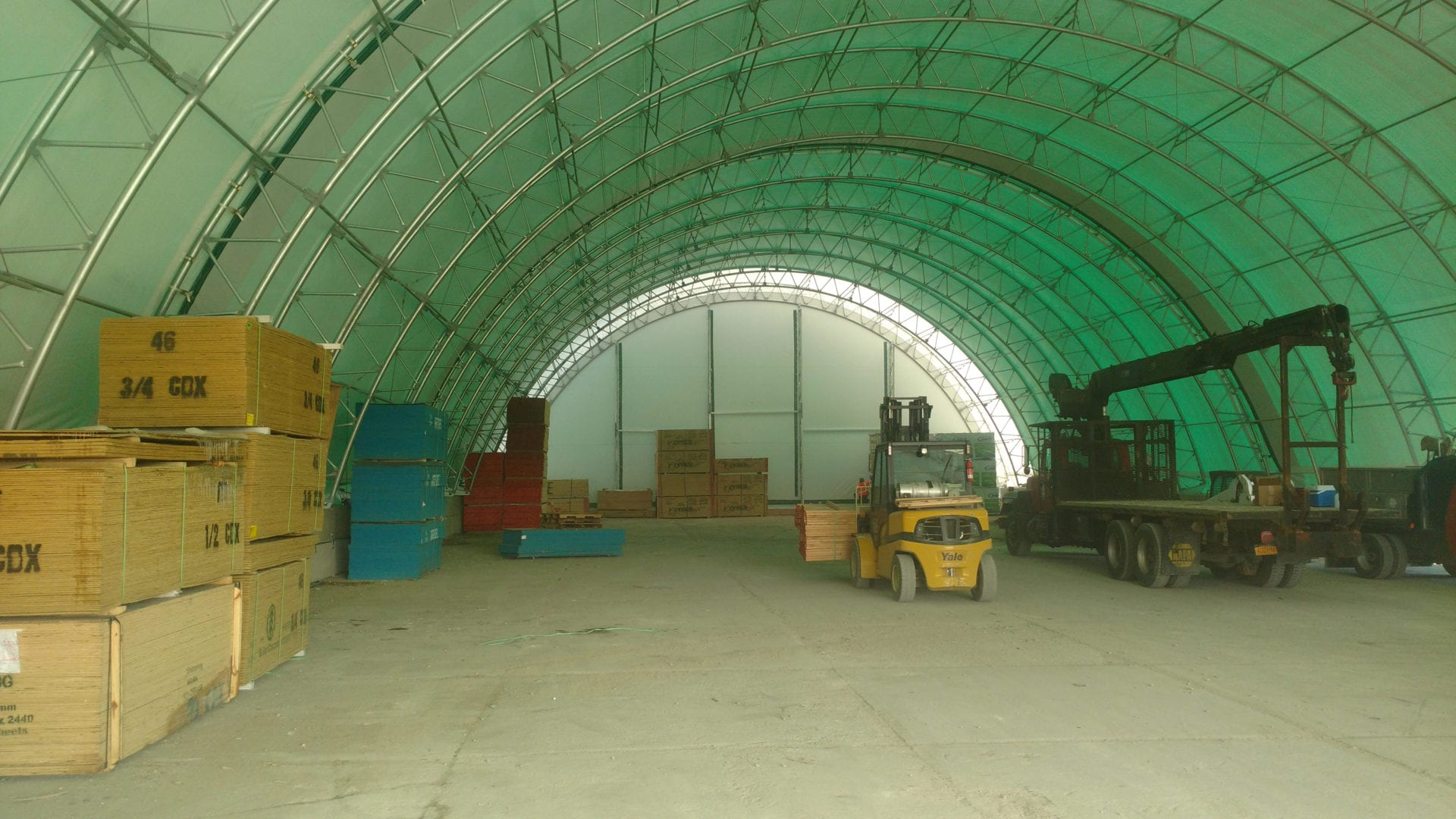 Industrial Tent Warehouse Rentals